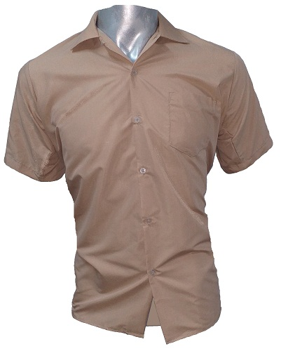 brown boys short sleeve shirt 10004