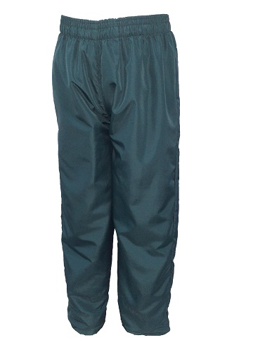 bottle green tracksuit pants 10018