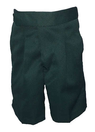 bottle green boys short 10044