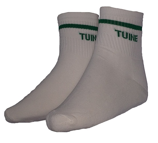 tuine sport socks with embroidery 10065W