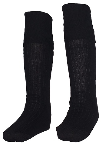 black long socks 10070