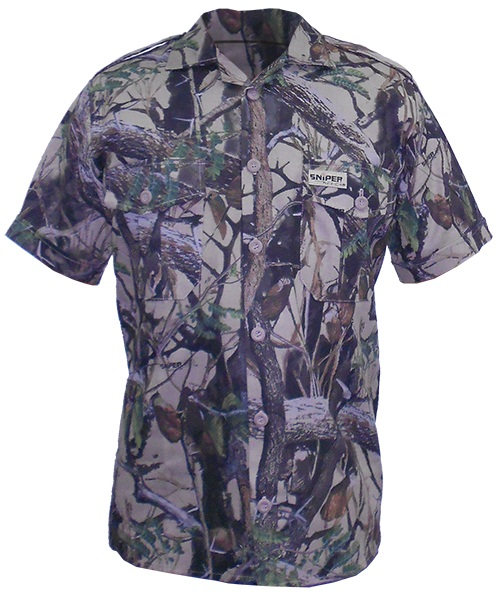 Sniper Africa PH Short Sleeve Shirt 102353