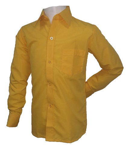 yellow boys long sleeve shirt 10275