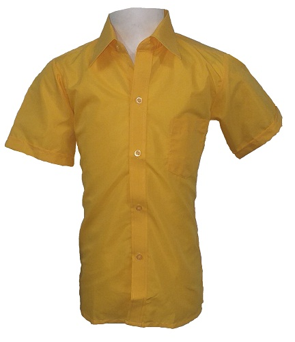 yellow boys short sleeve shirt 10276