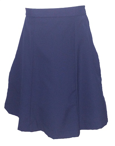 navy girls skirt 10277