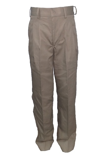 khaki boys long trouser 10450