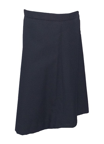 navy girls skirt 10560
