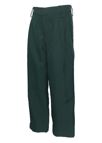 bottle green boys pants 10679
