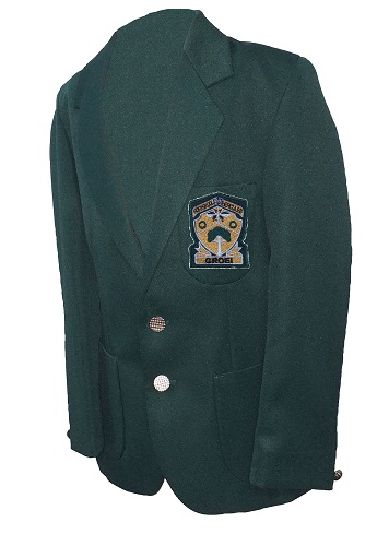 hercules high blazer with emblem 10696