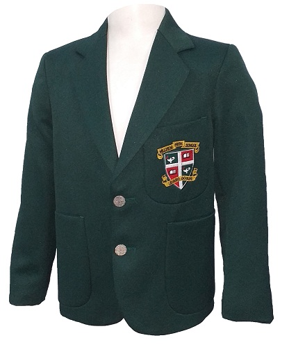 hillview blazer with badge 10709