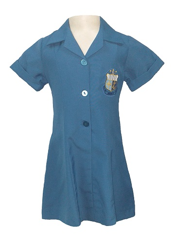 iona convent summer dress with emblem 12925