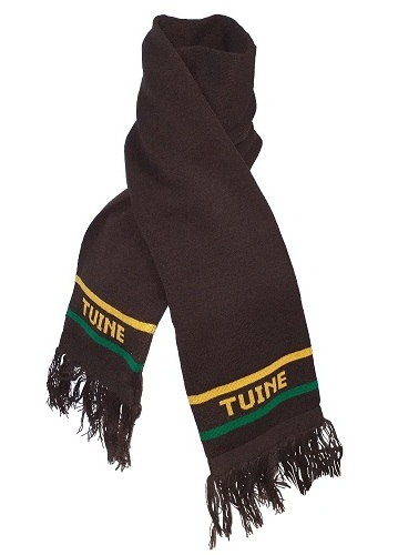 tuine scarf with embroidery 14253