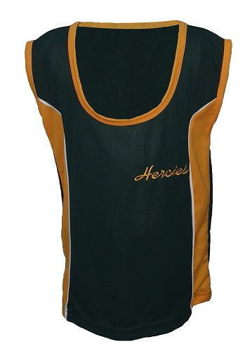 hercules high sports top with embroidery 17447