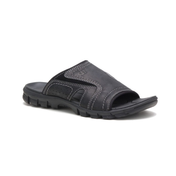 MEN'S SANDAL BLACK & BROWN 19994 CAT INDIGO PAK