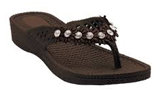 LADIES JELLO'S GREY, BROWN &BLACK 20862