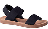 LADIES PIERRE CARDIN SANDAL NAVY