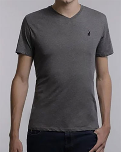 Mens Polo V Neck Tshirt 21288