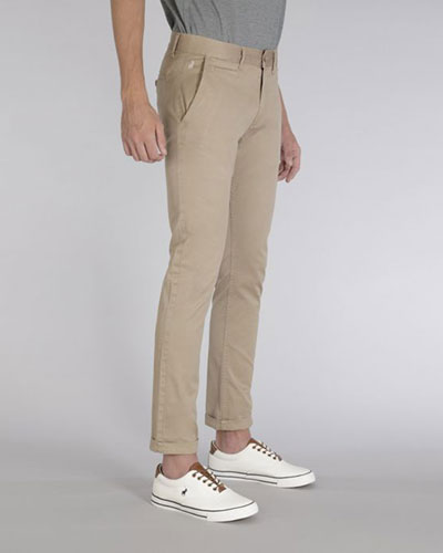 Mens POLO Milano Stretch Straight Leg Chino 21293
