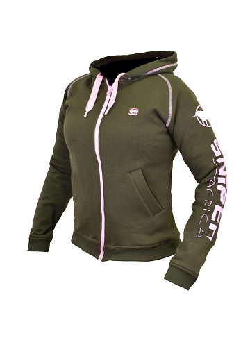 Sniper Olive/Pink Ladies Reactor hoody 22319