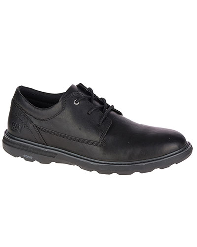 CATERPILLAR LACE UP MENS OLY BLACK SHOE
