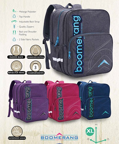 boomerang back pack S2097