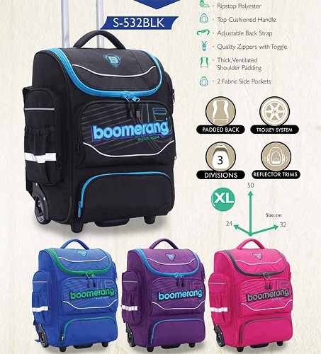 boomerang trolley back pack S532