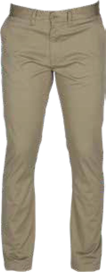 KHAKI MILANO STRETCH STRAIGHT LEG CHINO