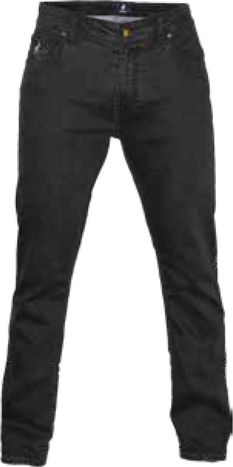 BLACK SIMON STRAIGHT LEG JEAN