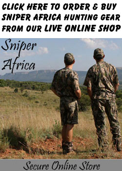 SNIPER AFRICA HUNTING CLOTHING ONLINE STORE