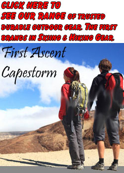 AFRISKI SKIING EUROPEAN SKIING CLOTHING FIRST ASCENT CAPESTORM