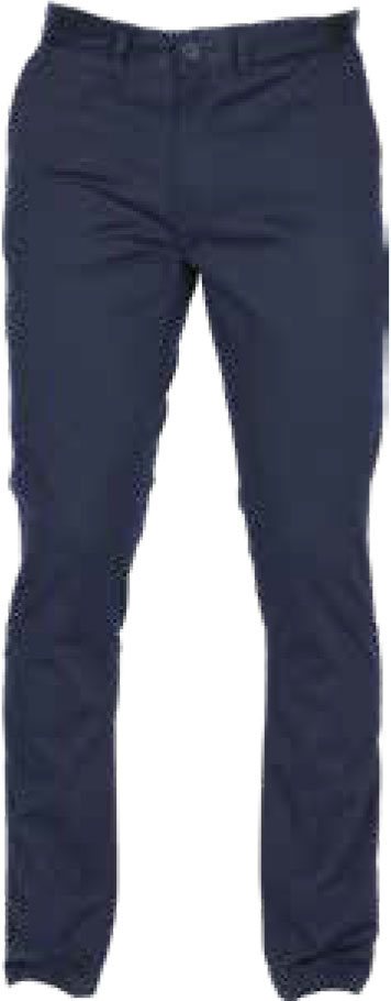 NAVY MILANO STRETCH STRAIGHT LEG CHINO