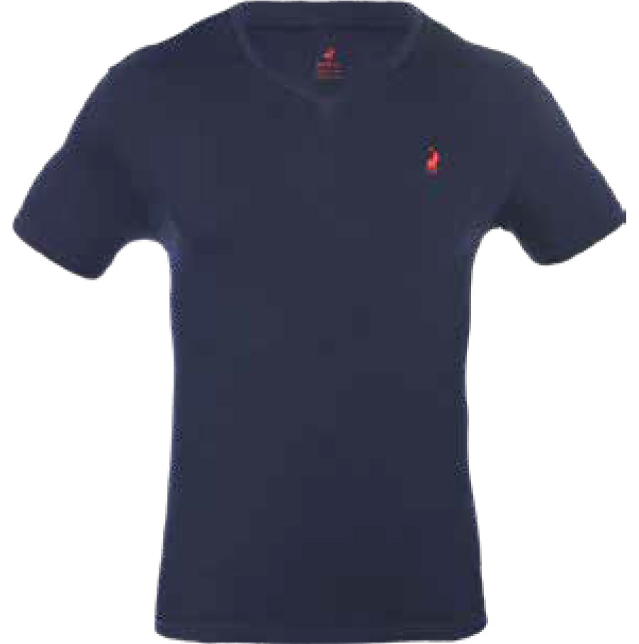 NAVY V-NECK TSHIRT