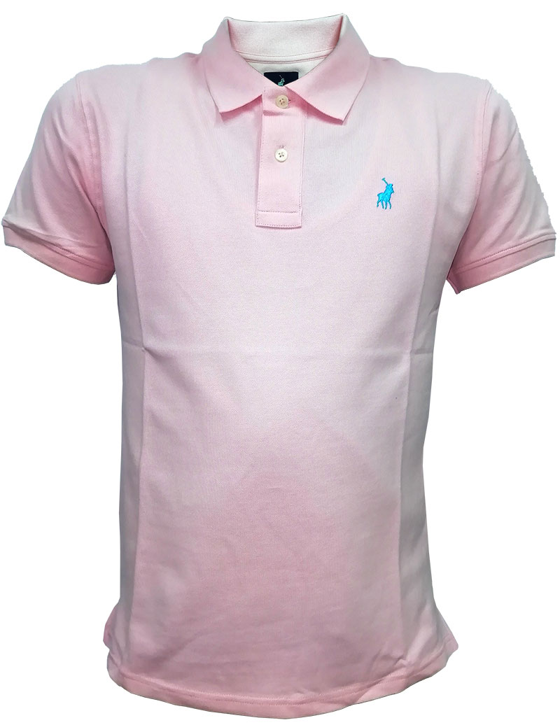 New Men's Single Jersey AOP Golfer Blue
