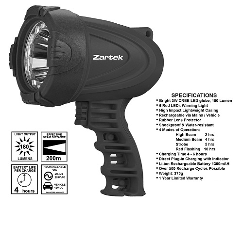 Zartek LED Spotlight ZA462