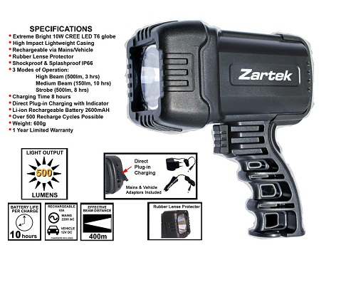 Zartek LED Spotlight ZA465