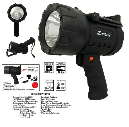Zartek Extreme Mega Bright LED Spotlight ZA479
